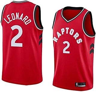 BeKing NBA Kawhi Leonard Maillot para Hombre - Toronto Raptors #2 Camiseta de Baloncesto Swingman