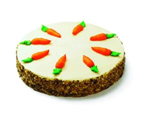 "Our Specialty 8"" Single Layer Carrot Cake, 30 oz"