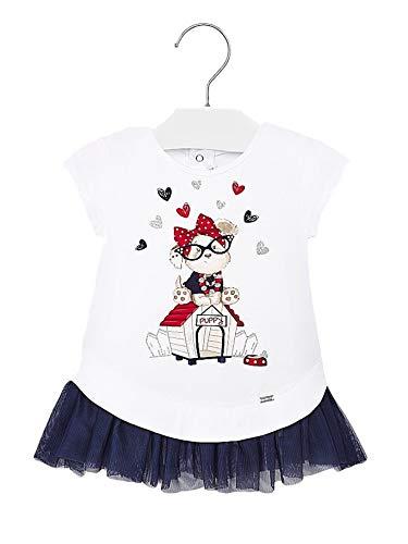 Mayoral 20-01925-037 - Vestido para bebé niña 18 Meses