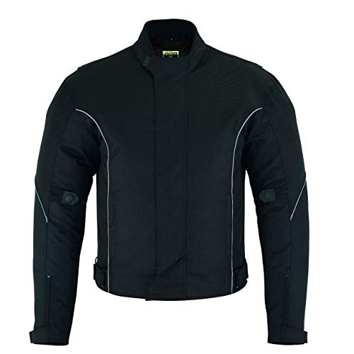 Motorcycle Riding Jacket For Mens Textile Motocross Touring Racing Apparel Biker CE Armored