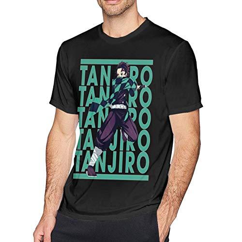 XCNGG Chicos Hombres Camisetas de algodón de Manga Corta Sport Fitness Camisetas con Cuello Redondo