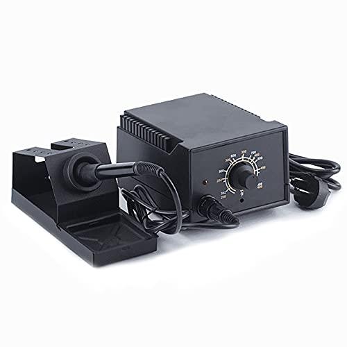 WanuigH Estación de Soldadura Temperatura Ajustable Máquina De Soldadura Metálica Calefacción Y Estación De Soldadura De Temperatura Constante Tiene Muchos Usos (Color : Black, Size : One Size)