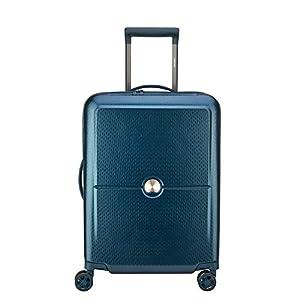 Delsey Turenne Maleta, 55 cm, 35.15 litros, Azul (Bleu Nuit)