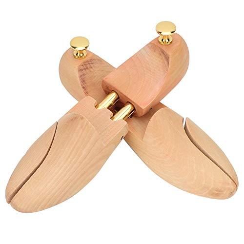 Fydun 2 Piezas de árboles de Zapatos, Madera Ajustable para Mujeres, Hombres, árbol de Zapatos para Tacones, Zapatillas Deportivas, Zapatos(35 36)