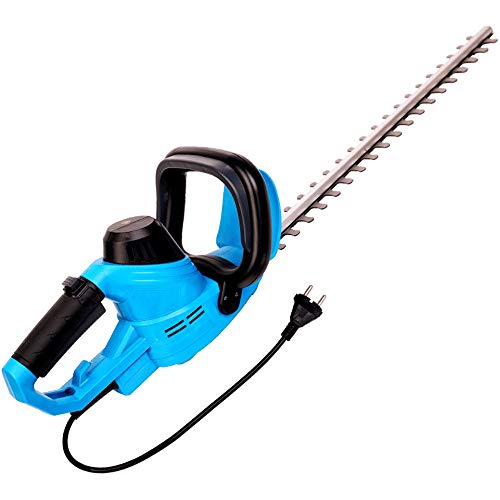 Find Discount Hedge Trimmer, 450W Electric Hedge Cutter Diamond Grinding Blade 580Mm Length 18Mm Cut...