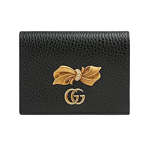 Gucci Bird Flower tian GG Wallet Leather Foldover Red interior Wallet