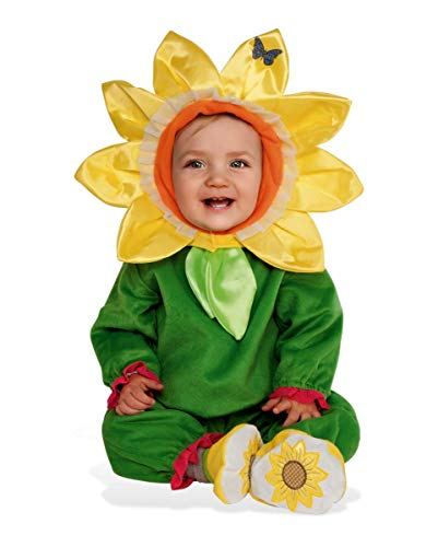 Horror-Shop Dulce Disfraz De Girasol para Niños Baby