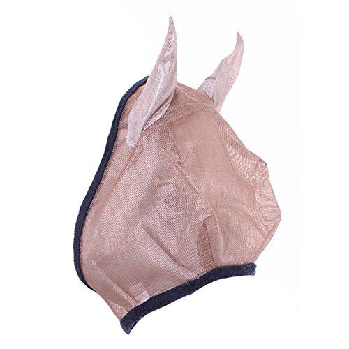 Horseware – Máscara Amigo Fly com orelhas de pônei bronze/azul marinho