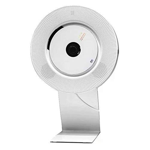 Adesign Reproductor de CD portátil con Bluetooth, Reproductor de CD Personal de CD Portátil, Reproductor de Discos portátil, Repetición de English Aprendizaje Prenatal Educación Prenatal para Adultos