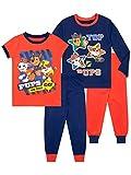 Paw Patrol Pijamas de Manga Larga para niños La Patrulla Canina Paquete de 2 de Ajuste Ceñido Multicolor 3-4 Años
