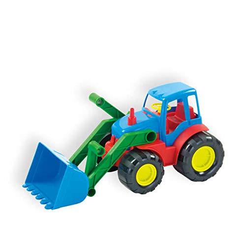 Mochtoys Spielzeug Traktor 10027, Bulldozer mit Schaufel 34 x 16 cm