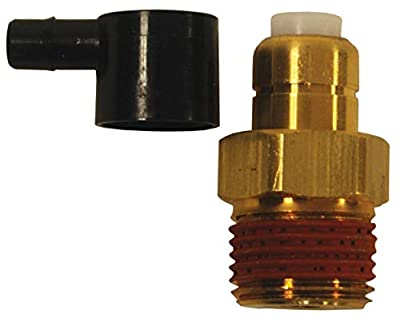 "Dixon 1/4"" Male Inlet, Thermal Relief Valve, 200psi, Up to 140� F (TPP140) by Dixon Valve & Coupling"