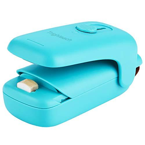 Trighteach Portable Mini Bag Sealer, 2 in 1 Heat Sealer & Cutter, Handheld Heat Sealer Machine for Food Storage and Keep Snack Fresh