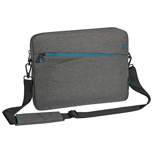 Pedea Tablet PC Tasche Fashion für 12,9 Zoll (32,8 cm) Schutzhülle Etui Hülle mit Zubehörfach, grau