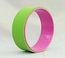 Yoga Wheel (Pink/Lime)