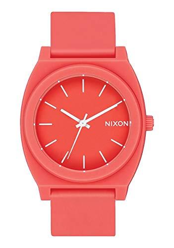 Nixon Reloj Analógico para Hombre de Cuarzo con Correa en PU A119-3013-00