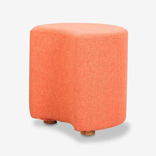 YYH Sofá Perezoso Personalidad Creativa Silla de una Sola Silla de Ocio al Aire Libre Silla Perezosa removible y Lavable Cómodo (Color : Orange)
