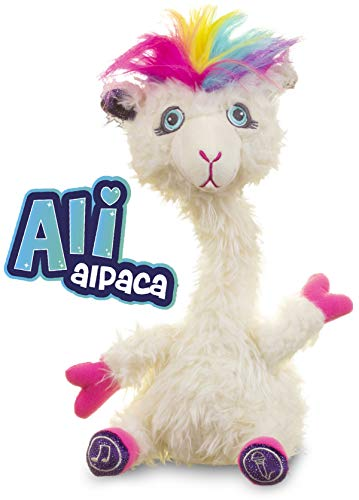 Sassimals- Alli The Alpaca - Peluche (Golden Bear Products Ltd 97)