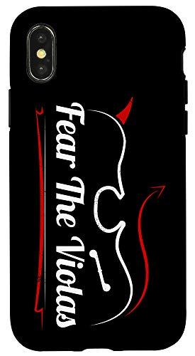 iPhone X/XS Viola Player Orchestra String Player Fear The Viola Case