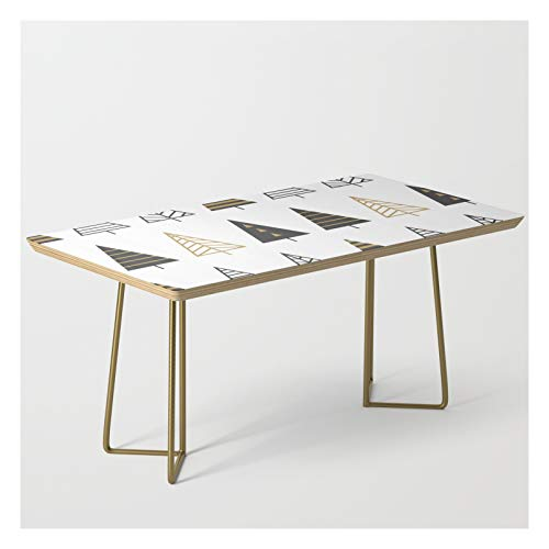 Modern Christmas Trees by Magic Dreams on Modern Coffee Table - Gold