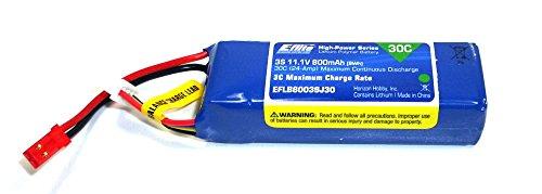 Blade 200 SR X Ersatzteil EFLB8003SJ30 Lipo Akku 800 mAh 3S 11,1 V 30C BH2®