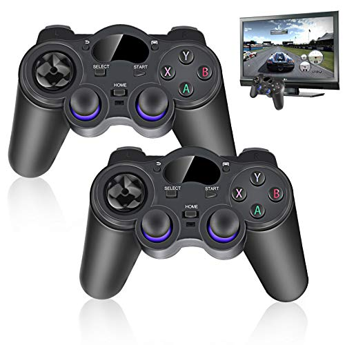 2X 2.4 g Kabellos Game Controller USB Gamepad Kabellos Joystick für Android TV Box PC
