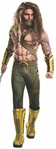 Rubie's Mens Aquaman Adult Deluxe Costume, Dawn of Justice, Standard
