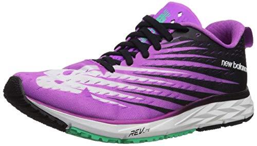 New Balance Women's 1500 V5 Running Shoe, Voltage Violet/Black, 10.5 D US