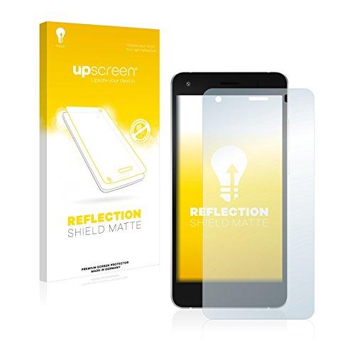 upscreen Entspiegelungs-Schutzfolie kompatibel mit Archos 50f Helium Lite – Anti-Reflex Bildschirmschutz-Folie Matt