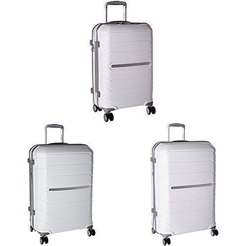 Samsonite Freeform Hardside Three-Piece Spinner Set (21'/24'/28'), White