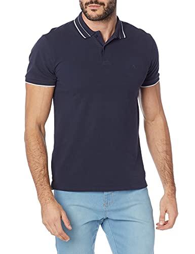 Forum Camisa Polo Masculino, M, Azul Life