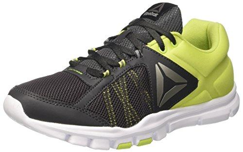 Reebok Womens Your Flex rain 9.0 Fitness Running Shoes Green 10.5 Medium (B,M)