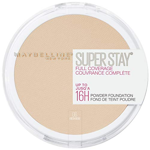Maybelline New York Super Stay Full Coverage 16H Powder Foundation Nr. 06 Fresh Beige, 7 g