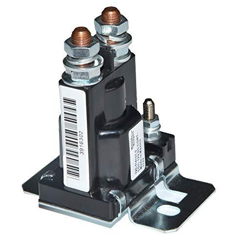 SGYANZLG Interruptores MAX 500A 12V 24V de Alta Corriente de Arranque del Coche Baterías Relés 4Pin Camión de Inicio automático de alimentación Principal Doble Control aislador (Color : 12V)