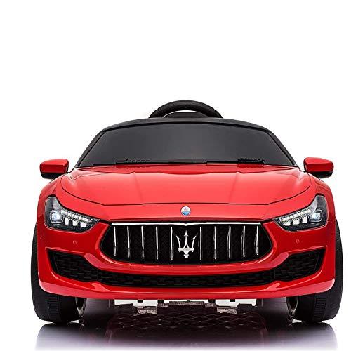ATAA Maserati Ghibli 12v - Rouge - Voiture électrique pour Enfants 12v