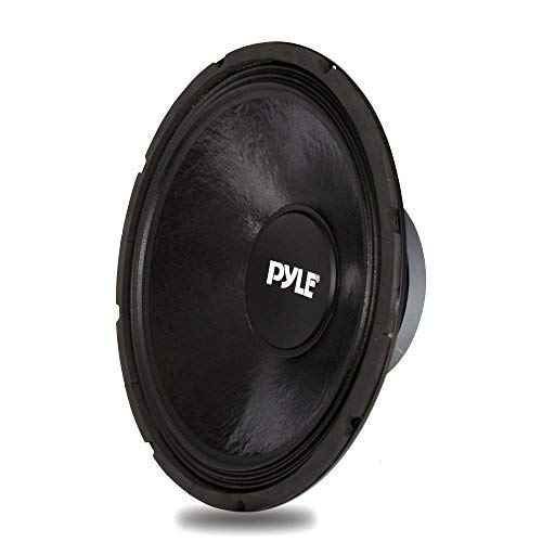 15 Inch Car Midbass Woofer - 800 Watt High Powered Car Audio Sound Component Speaker System w/High-Temperature Kapton Voice Coil, 30Hz-3kHz Frequency, 90.2 dB, 8 Ohm, 70 oz Magnet - Pyle PPA15