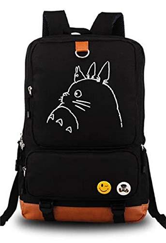 Siawasey My Neighbor Totoro Anime Cosplay Leuchtender Rucksack Schultertasche Schultasche