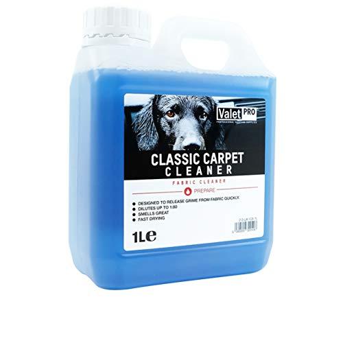 ValetPRO 5060220320406 Classic Carpet Cleaner Teppich und Polsterreiniger, 1 L