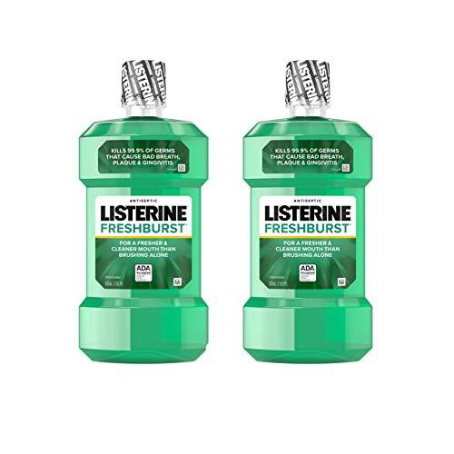 Listerine Freshburst Antiseptic Mouthwash with Germ-Killing...