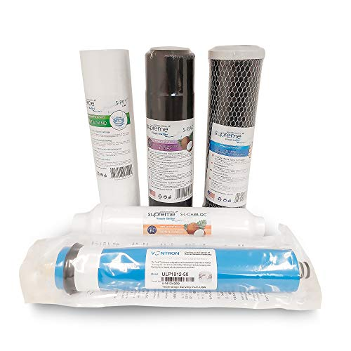 Sistema de filtro de ósmosis inversa 5 sistemas de etapas