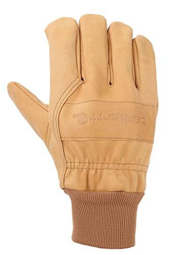 Carhartt Herren Insulated System 5 Gunn Cut (Knit Cuff) Handschuhe für kaltes Wetter, braun, Medium