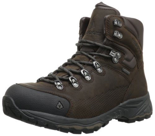 Vasque Men's St. Elias Gore-Tex Backpacking Boot, Slate Brown/Beluga,8.5 M US