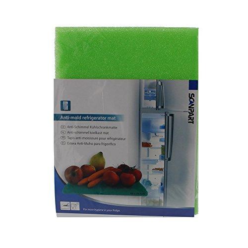 Scanpart Anti-Schimmel-Matte für den Kühlschrank, Antibakteriell & Hygienisch, damit Obst und Gemüse länger frisch bleibt, Universal