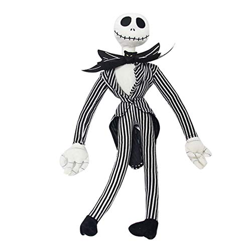Suppemie The Nightmare Before Christmas Jack Skellington Esqueleto Muñeco De Peluche Pesadilla Antes De Navidad Juguetes 50cm
