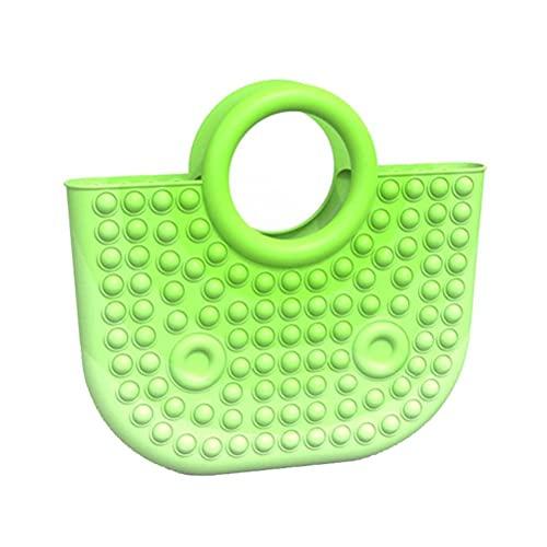 SUPYINI Pop It Fidget Toy,31 * 28 * 5.3cm Large Push Bubble Fidget Sensory Toy, Anti-Stress Toy for Adults and Children, Simple dimpled Fidget Toy, Squishy BUBB Push Pop Toy