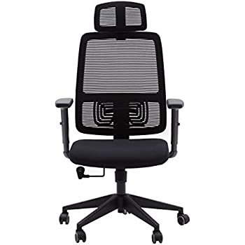 Ergonomic 360° Swivel Office Mesh Chairs High-Back Adjustable For Office /& Study