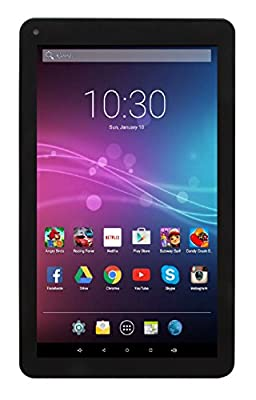 """Astro Tab A935 - 9"""" Quad Core Android 5.1 Lollipop Tablet PC with 1GB RAM, 8GB Storage, Bluetooth 4.0, 1024x600 9 inch screen, Google Play (Black)"""