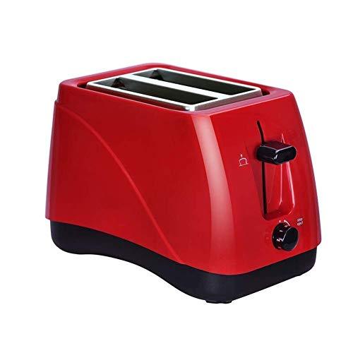 Zixin 2 Slice Toaster, Acero Inoxidable Pan tostadoras 2 Slice Toaster, Bandeja for Migas Desmontable, Color: A (Color (Color : B)