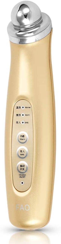 S&RL Augenmassagegert für Augenbeutel-Falten-Artefaktpflege Augen-Augenmassagegert schwarz Circle Hot Pack zur Verringerung von Müdigkeit, Champagner Gold