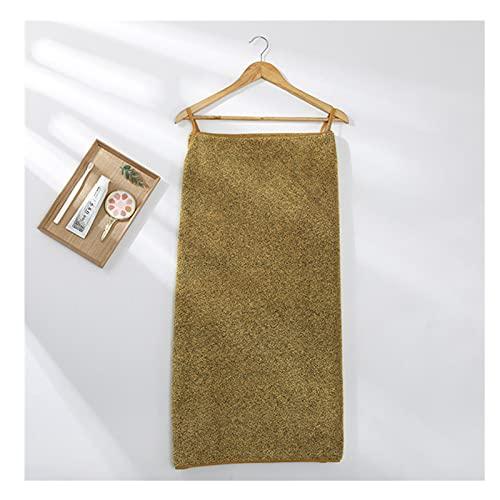 YUNDONGZHIJIA Albornoz de Microfibra Toalla de baño Absorbente de Textiles para el...
